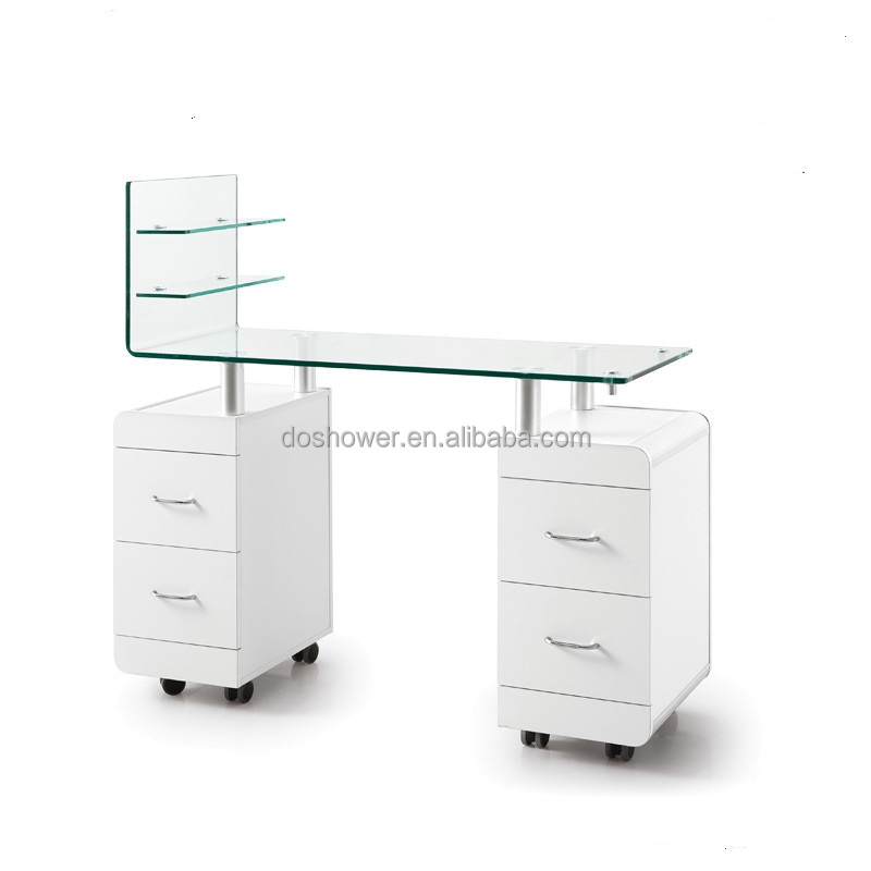Doshower 2017 new design manicure table gauteng with salon furniture for sale