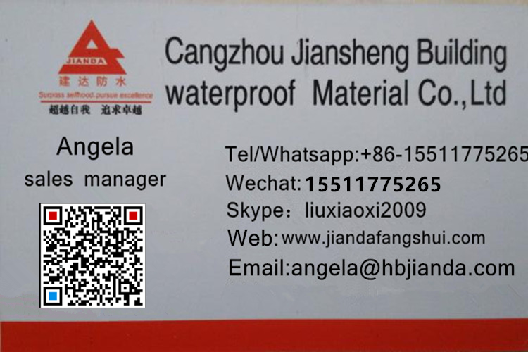 Jianda Brand Breathable Waterproof Membrane And Roofing
