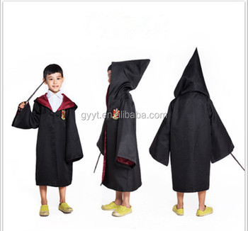 bulk wholesale kids halloween costumes cosplay harry potter costume gryffindor robe