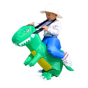 Factory direct selling mascot animal dress lifelike small dinosaur costume cute little dinosaur inflatable suit