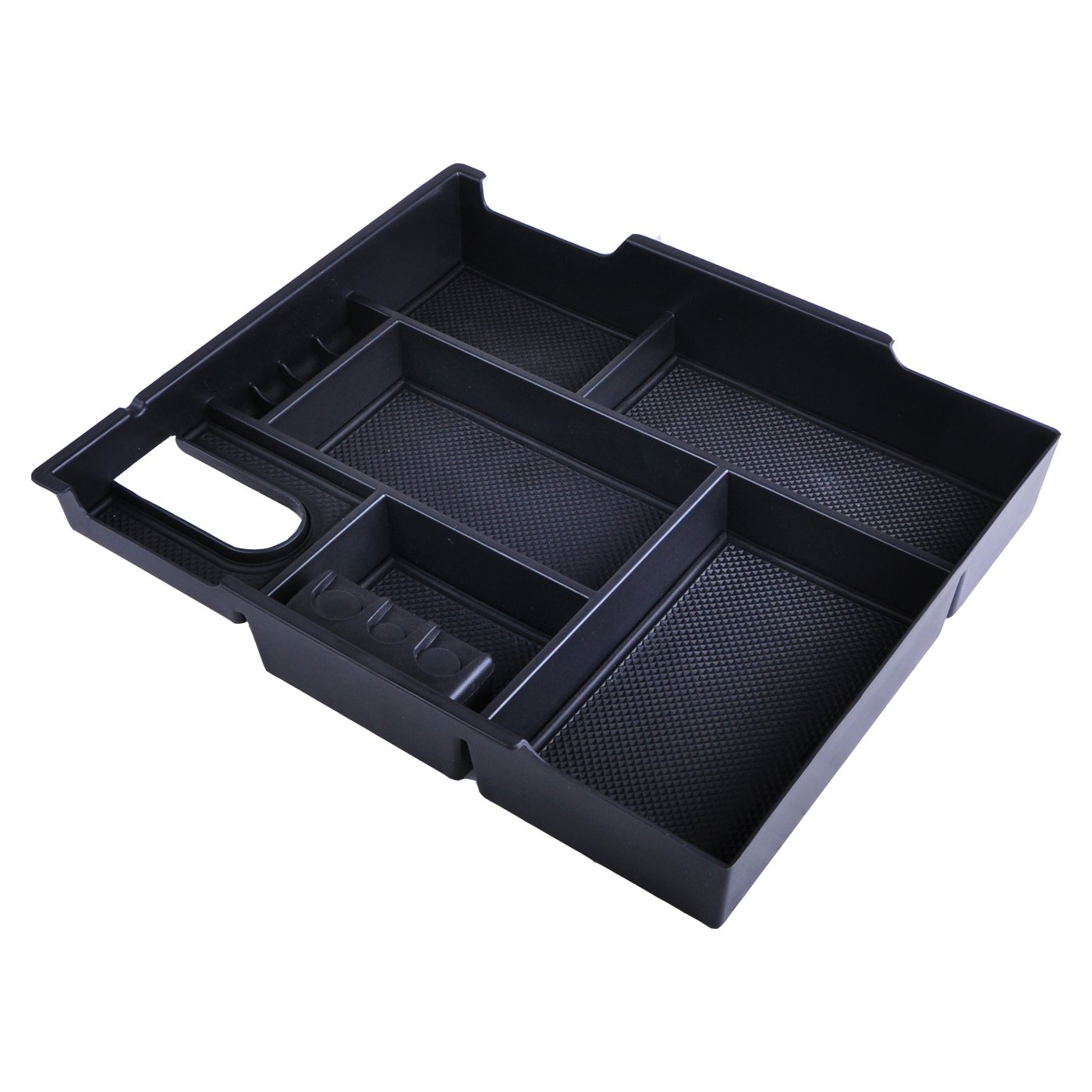 OMOTOR Toyota Center Console Tray Organizer Glove Box Fits for 2014-2018 Tundra, Armrest Secondary Storage Box Tundra