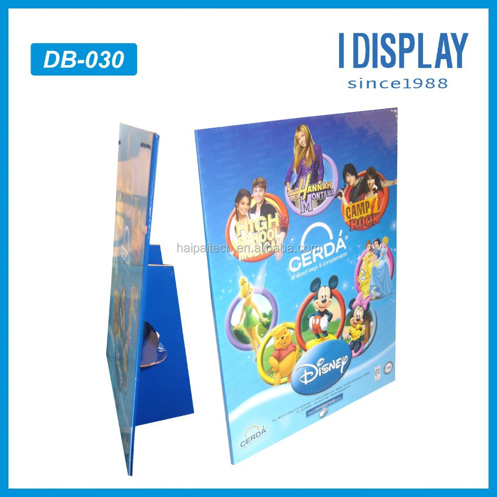 Classic Cartoon Character Design Advertising Cardboard Table standee Display Rock Music Festival Poster