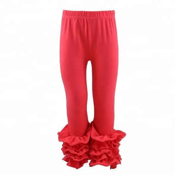 0a0ce005a Wholesale girls boutique ruffle icing leggings pants kids baby toddler fall  Christmas icing pants
