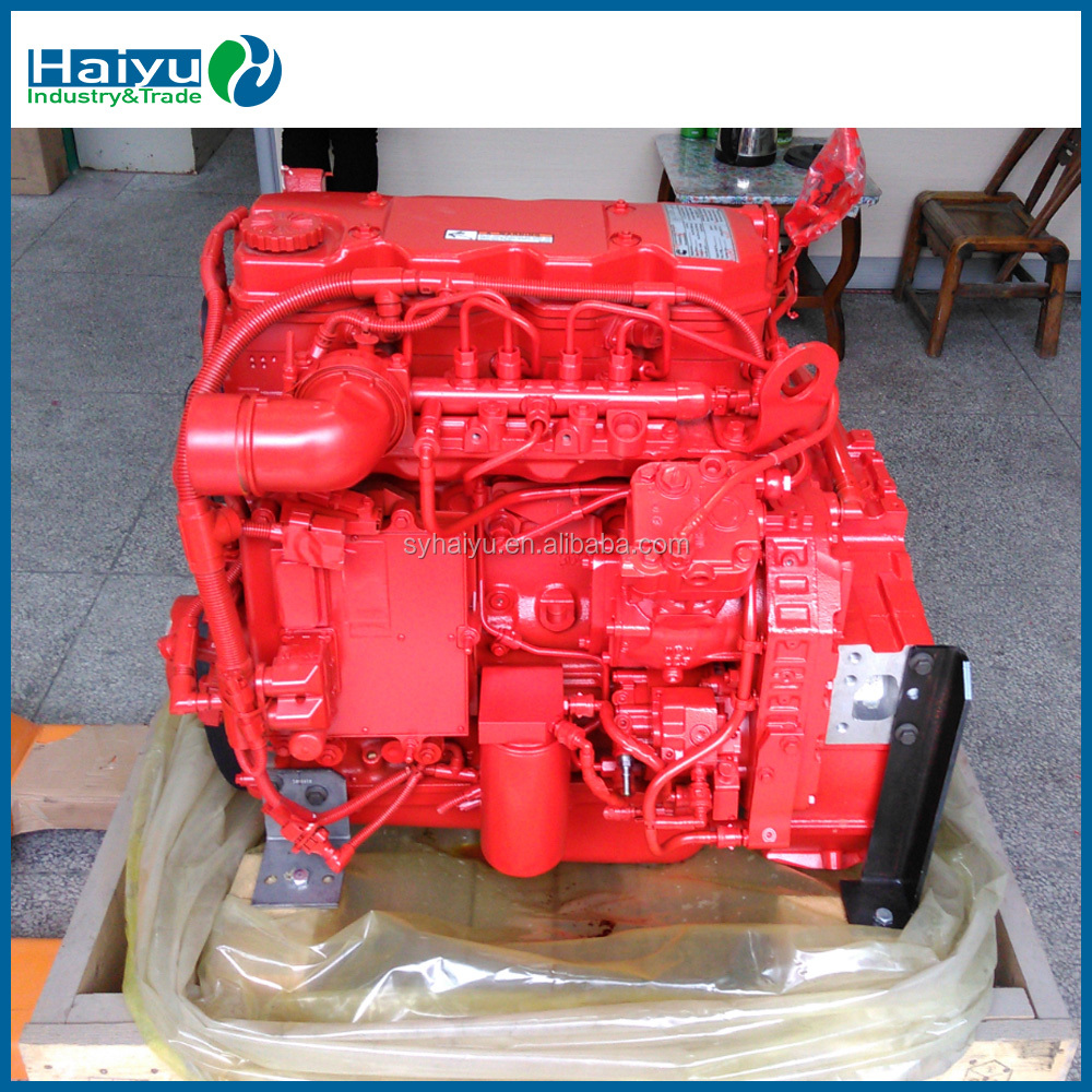 Hot selling stock ISBE4+185 engine assembly 21839417