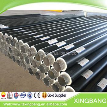 Rigid Polyurethane Foam Pre Insulated Carbon Steel Pipe