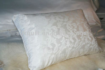 Luxury Jacquard 25mm Charmeuse Silk Pillow Cover Oeko Tex