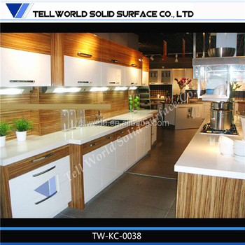 Tremendous Assembly Kitchen Bench Top In L Shape Covered With Acrylic Solid Surface Buy Kitchen Top Assembly Kitchen Acrylic Kitchen Counter Product On Inzonedesignstudio Interior Chair Design Inzonedesignstudiocom