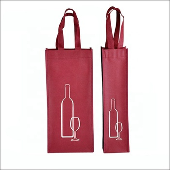 Fashion designs recycle wine cloth cosmetic shopping bags eco friendly bag