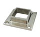 stainless steel handrail post base plate for staircase/pool fence
