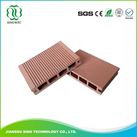 Waterproof Outdoor Composite Floor foamed wpc decking