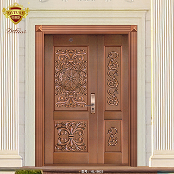 Modern Main Door Design Bronze Double Door For Houses View Double Door For Houses Ditusi Product Details From Foshan Nanhai Ditusi Doors Co Ltd