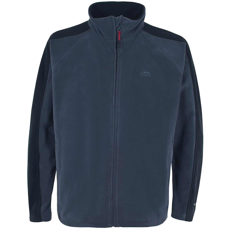 Trespass Mens Acres Full Zip Fleece Jacket (M) (Navy Tone)