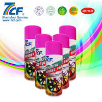 7CF Acrylic Aerosol Colorful Rubber Spray Paint
