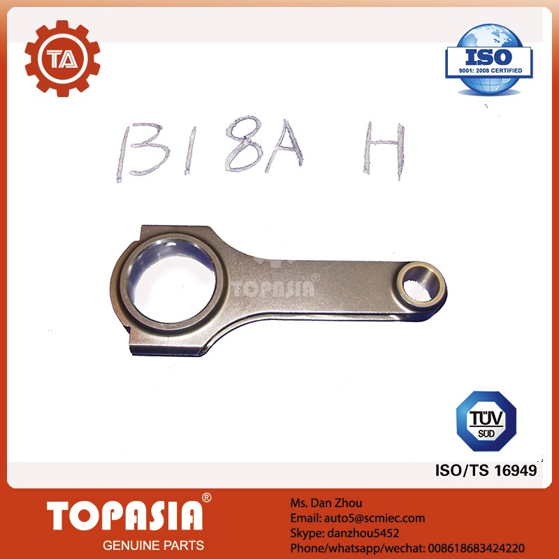 TOPASIA H Beam Connecting Rod without ARP bolt