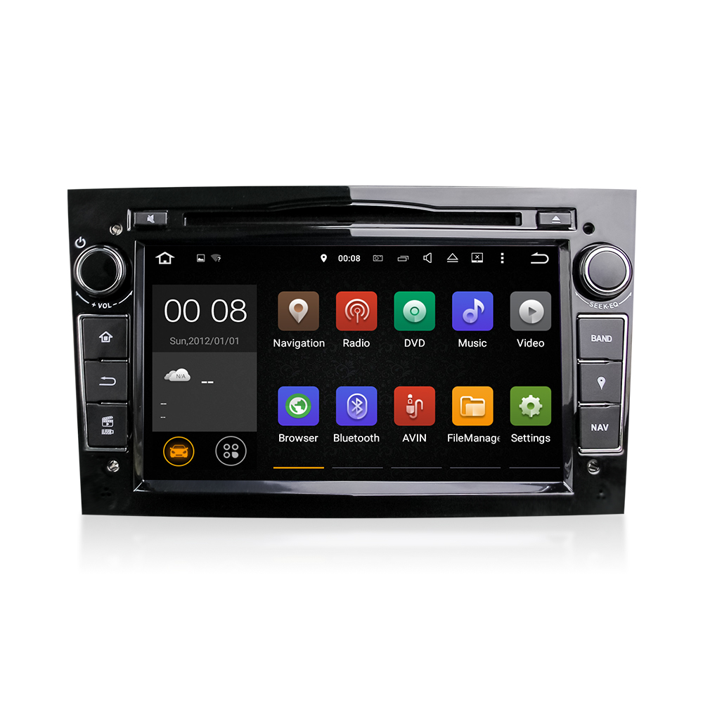 "7"" 2016 Quad core 2 Din 100% Pure Android 5.1Universal Car Dvd Player Gps Navigation Stereo Video Multimedia"