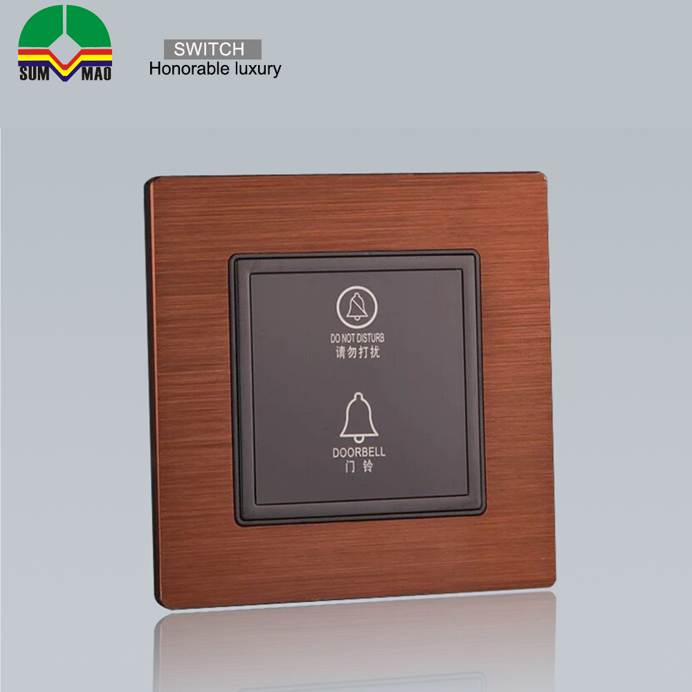 The popular push rectangle control doorbell switch push button for home