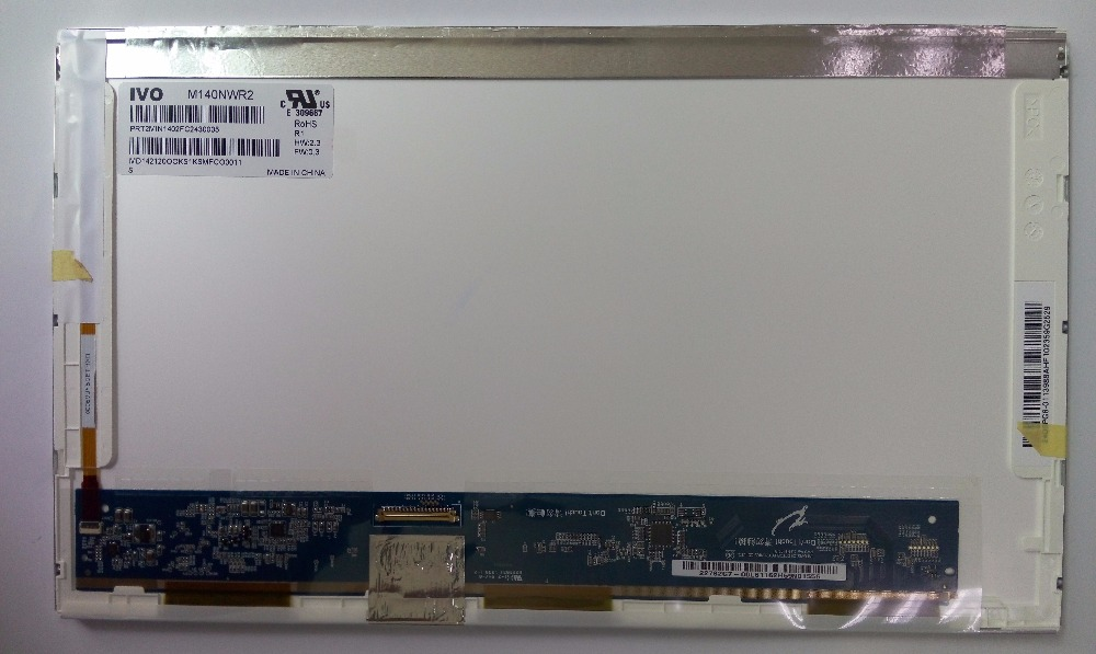 100% Original 14.0 inch laptop lcd M140NWR2 R1 with wholesale price
