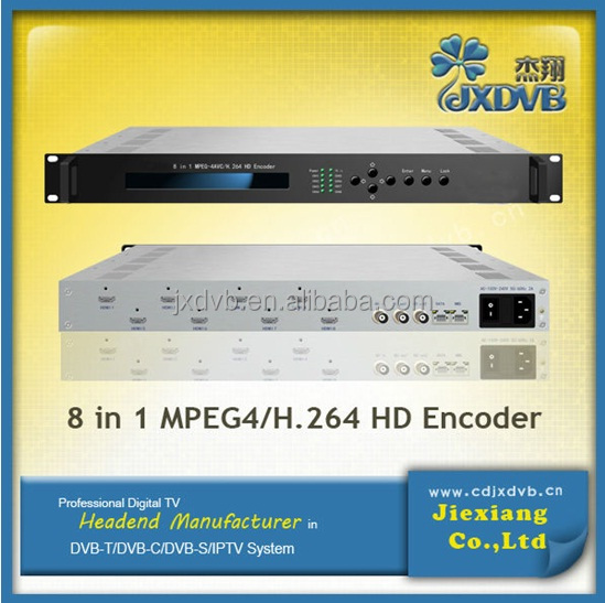 IPTV headend, IPTV streamer, mpeg to IP decoder