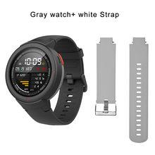Новые умные часы Hua mi AMAZFIT Verge 3 с gps, IP68 экран, сердечный ритм, ответ на звонки, умные часы, Ask Alexa для mi 8, серый цвет(Китай)
