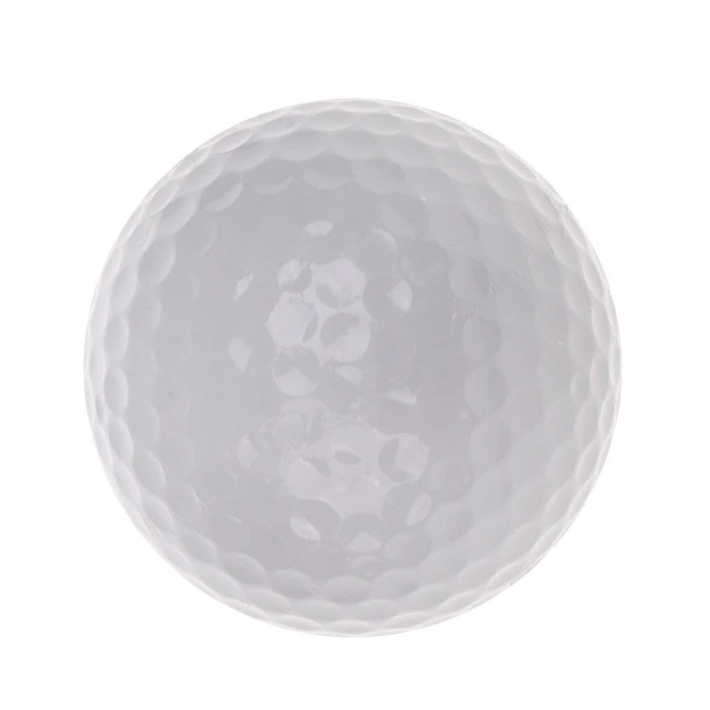 MagiDeal Golf Luminous Ball Training Fluorescent Balls