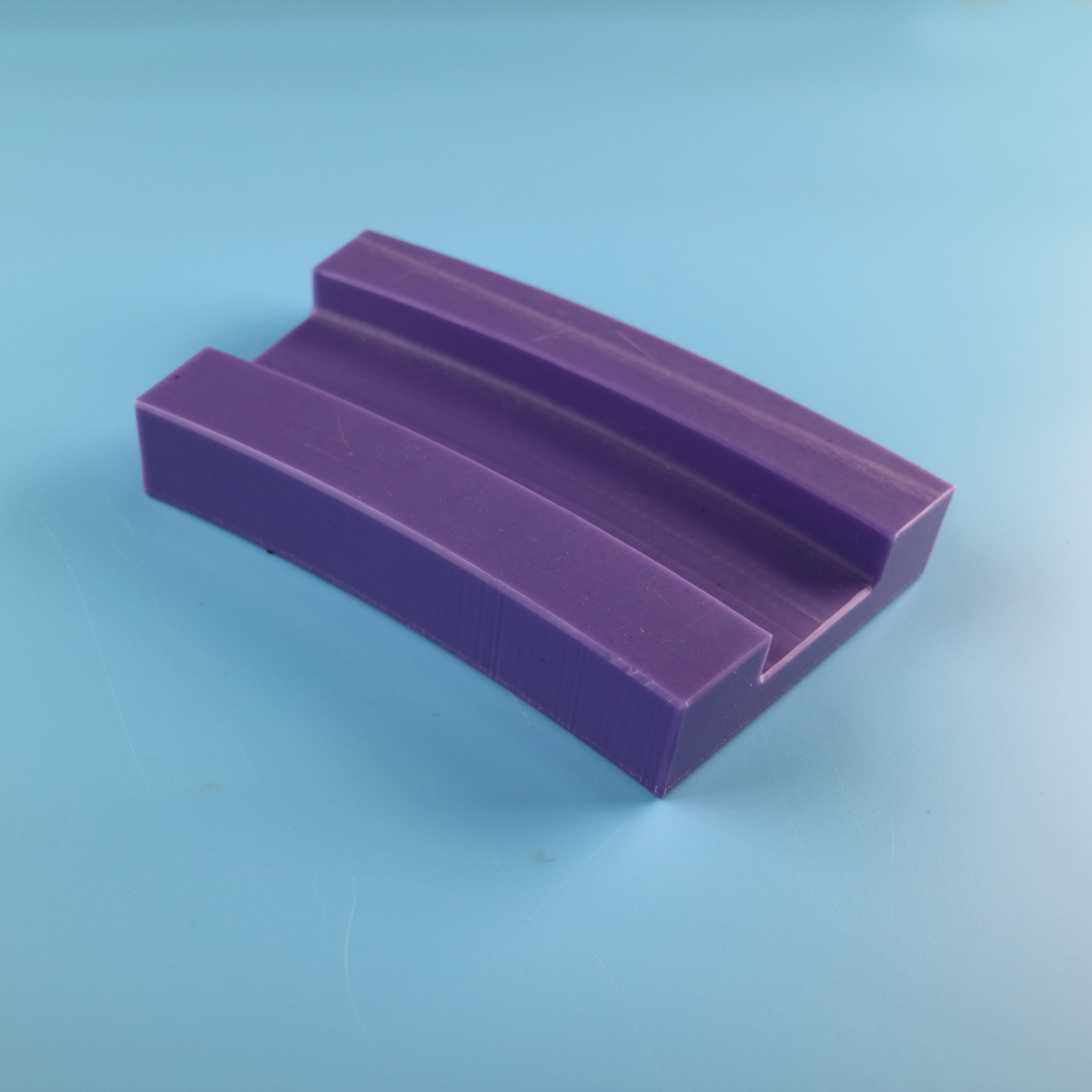 CNC machining plastic light guide for production line