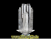Crystal Desktop Trophy Momentoes Souvenir Miniatures for Promotional Corporate Gifts