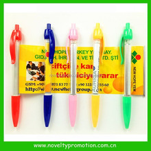Pull Out Promotional Poster Ball Pen