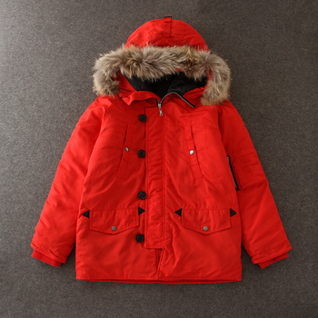 dcfab3404de2 China wholesale Family Set girls child clothing kids winter fur red coats  warm winter mother and