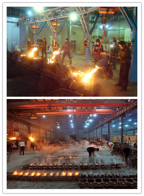 Stainless steel Casting Machining Flanges with Painting Foundry
