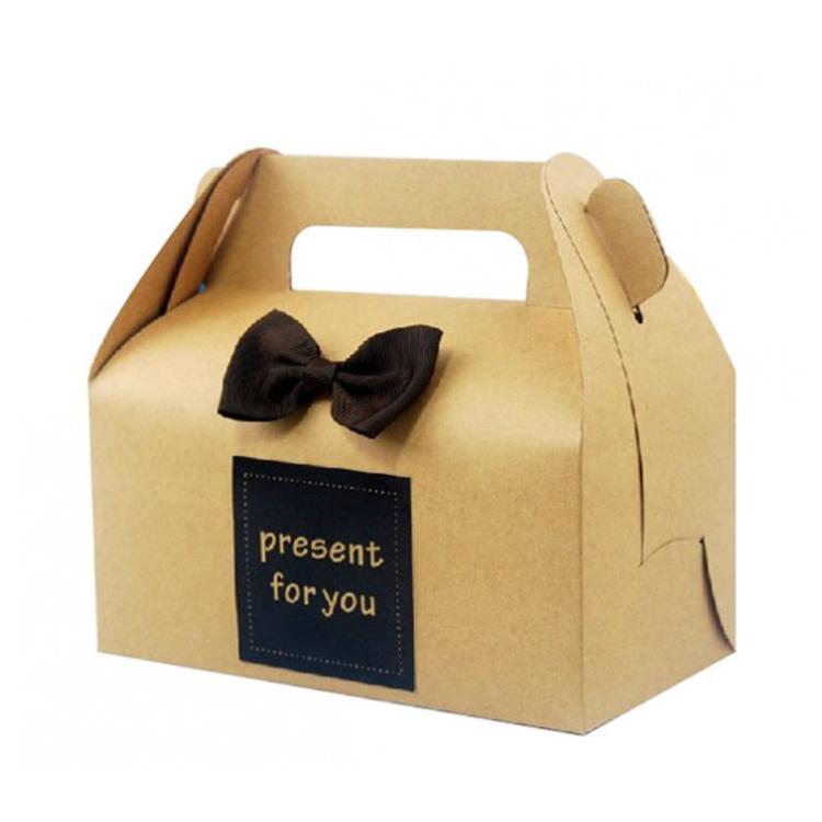 Luxury paperboard wedding cake box design