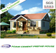 Luxury cheap and quick assembled low cost small house