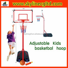 Top selling basketball hoop for kids, kids plastic basketball stand,kids basketball set toys