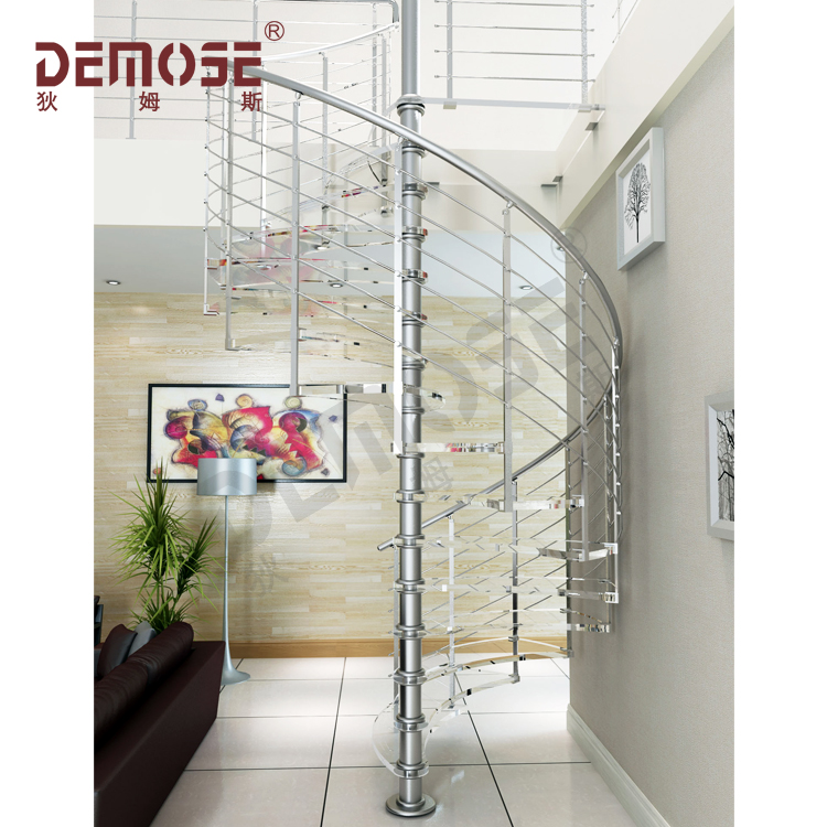 Interior Granit Steps Stainless Steel Spiral Stairs For Basement Buy Prefabricated Spiral Stairs Modern Railing Stair Round Staircase Design Product On Alibaba Com
