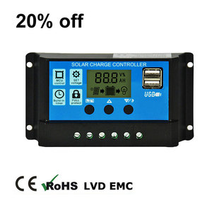 China manufacturer for mppt solar charge controller 12v 24v 10amp