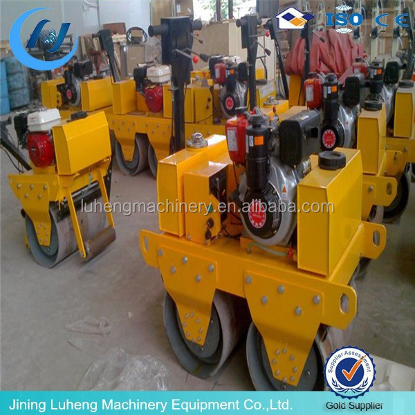 High quality 1 ton hydraulic small vibrating road roller for sale