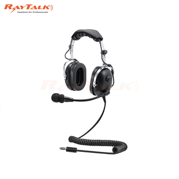 replica helicopter pilot helmet aviation headset with noise