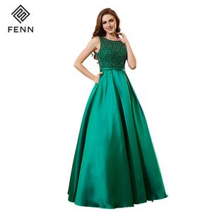 China Green Evening Dress 8069a616e55b