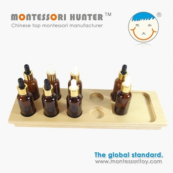 Tasting Exercise for Chinese montessori materials