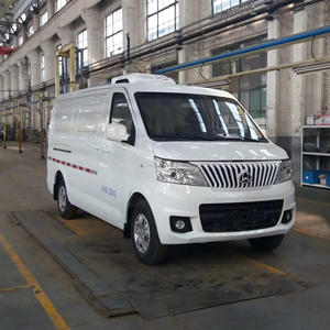 refrigerated cold room van truck