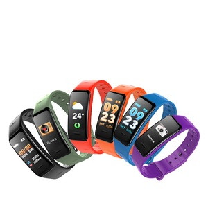 2018 New 3D Dynamic UI Smart Bracelet Color Screen with Heart Rate Monitor