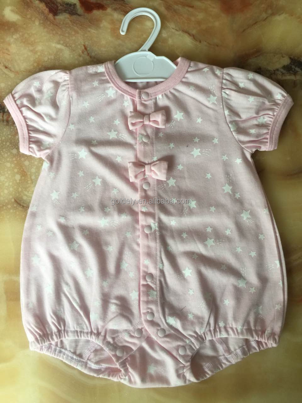 baby outlet clothes solid plain dyed no printing colorful rompers