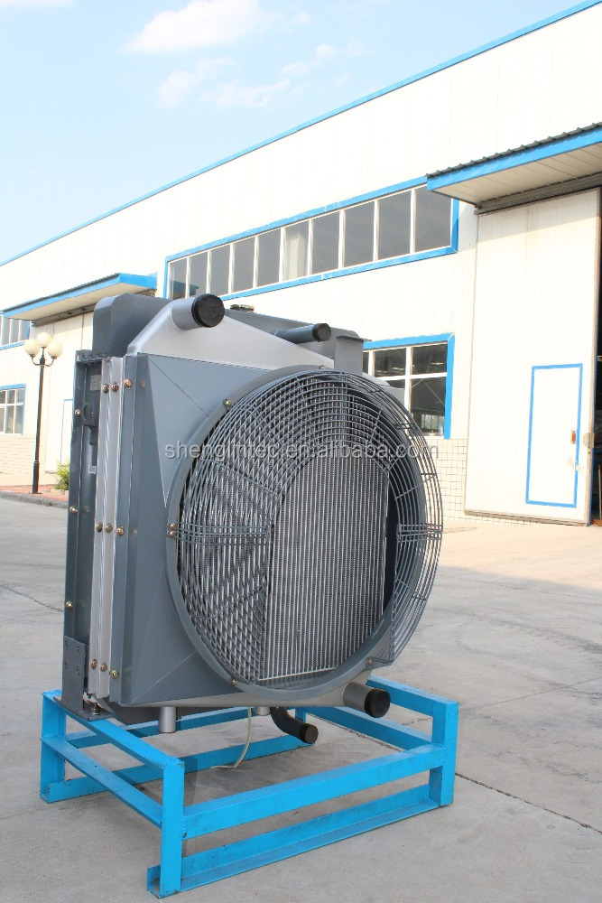High quality excavator water to air intercooler radiator