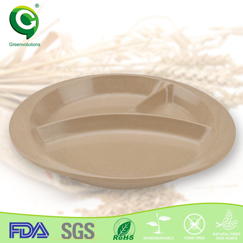natural organic thermocol decorative pie plates