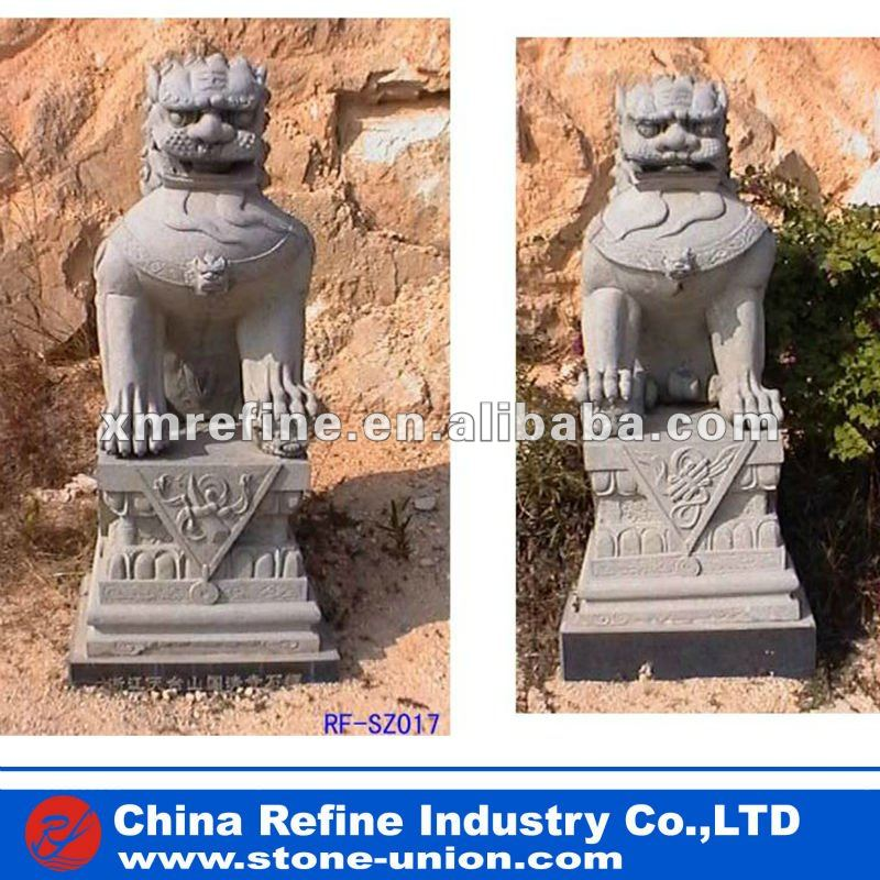 Stone granite lion sculpture, statue factory
