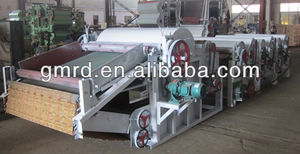 high efficiency new design waste textile recycling machine
