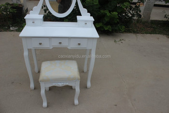 Vienna | Dressing Table,Mirror & Stool Set| Premium Quality | Laura ...