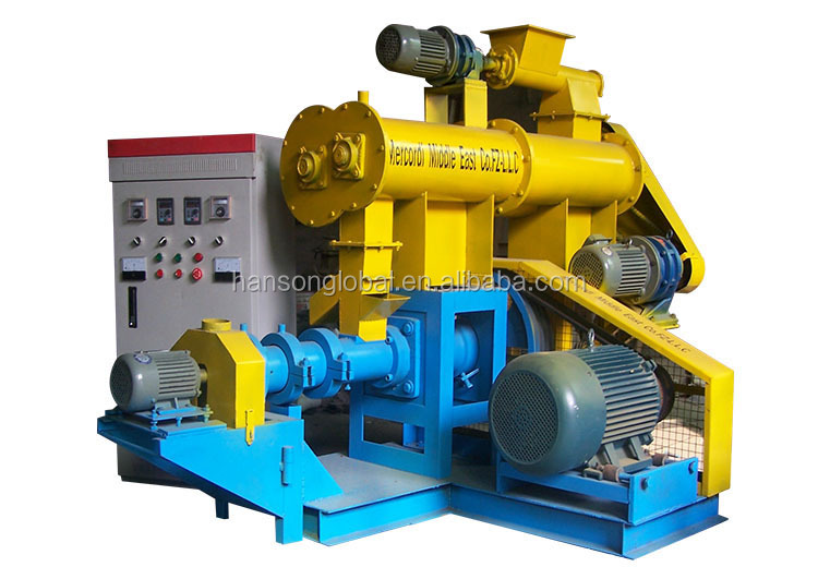 Hot sale fish feed pellet press/fish feed machinery manufacturer