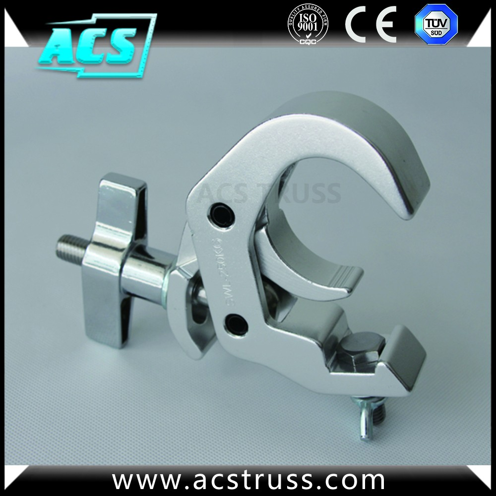ACS Aluminum Alloy Lamp Hook and Aluminum Lighting clamp for truss display