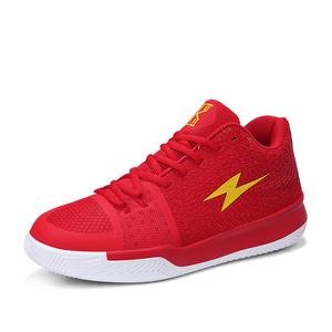 2019 Hot Men's Fashion  Mesh  High Top Basketball Shoes Men's Sports Shoes Basketball