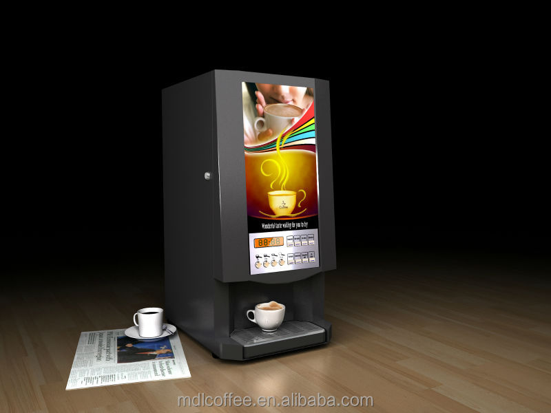 Automatic Hot Tea Coffee Soup Vendor/Hotel Office Use hot drink vending machine/CE Rohs approved